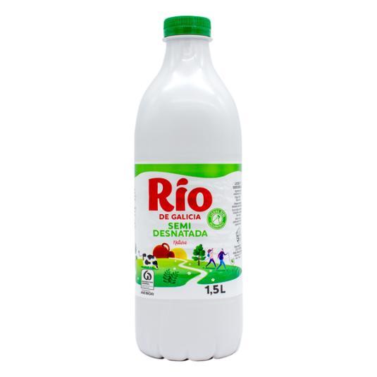 LECHE SEMIDESNATADA BOTELLA RIO 1.5L