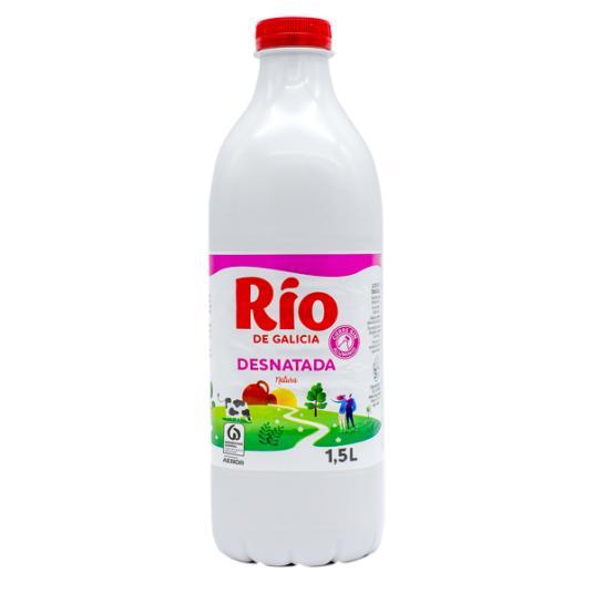 LECHE DESNATADA BOTELLA RIO 1.5L