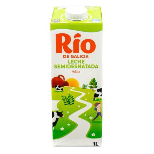 LECHE SEMIDESNATADA BRICK RIO 1L