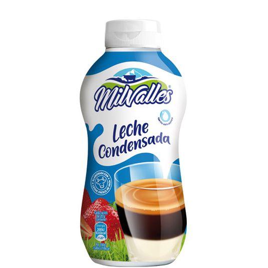 LECHE CONDENSADA ENTERA S/FACIL MILVALLES 450G