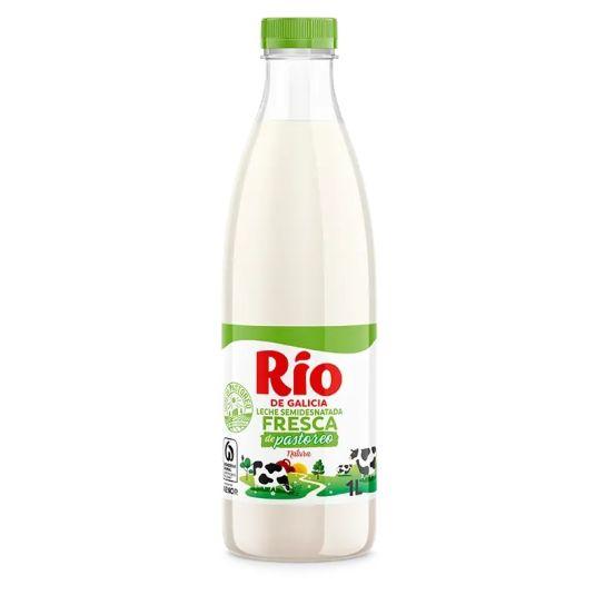 LECHE SEMIDESNATADA FRESCA RIO 1L