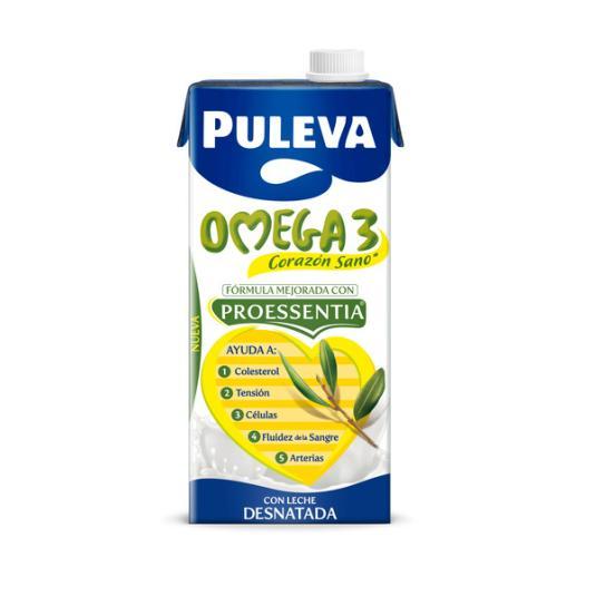 PREPARADO LACTEO COLESTEROL OMEGA 3 PULEVA 1L