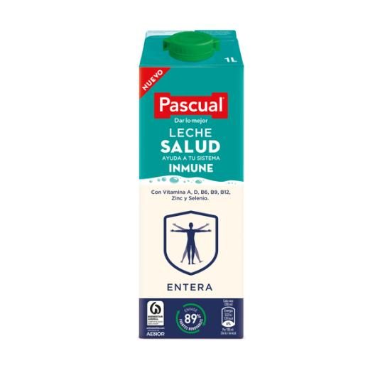 LECHE ENTERA SALUD PASCUAL 1L