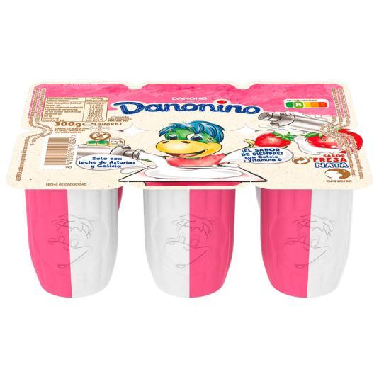 PETIT SUISE DUO FRES/NATA DANONINO DANONE P6 50G/U