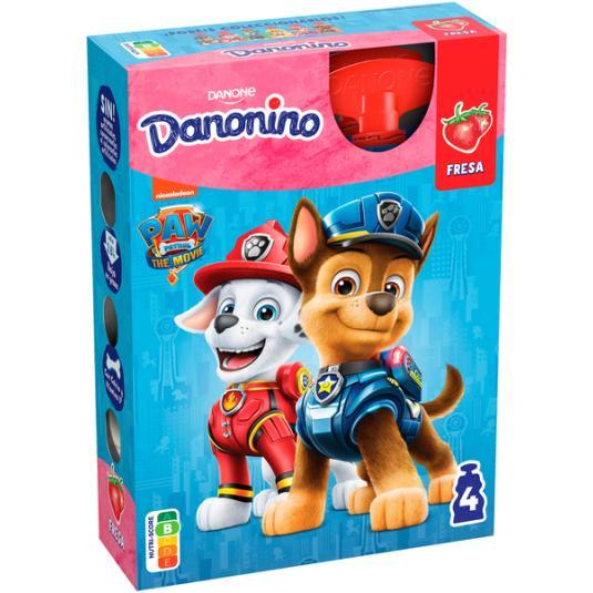 YOGUR POUCH FRESA DANONINO DANONE P4 70G/U