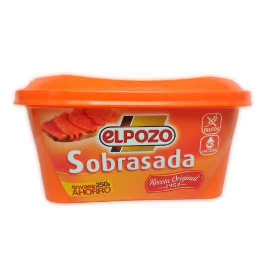 SOBRASADA TARRINA EL POZO 250G