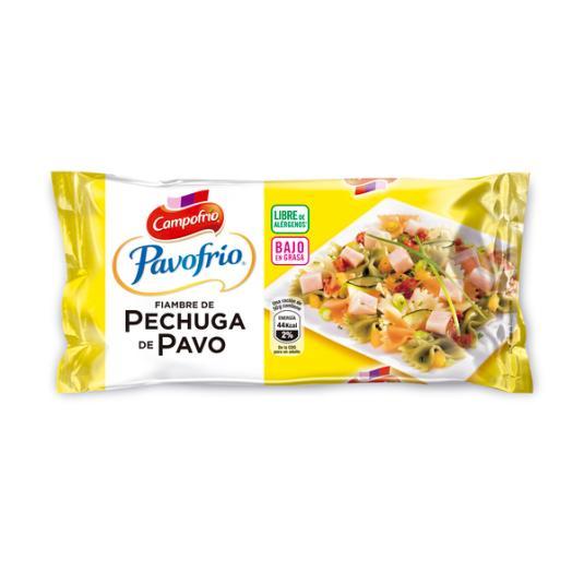 PECHUGA PAVO BAJO GRASAS PAVOFRIO CAMPOFRIO 380G
