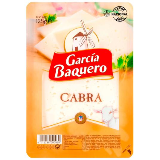 QUESO CABRA LONCHA GARCÍA BAQUERO 125G