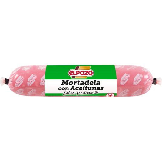 MORTADELA C/ACEITUNA MINI POZO 300G