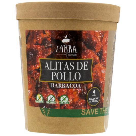ALITAS DE POLLO ASADAS BBQ EARRA 500GR