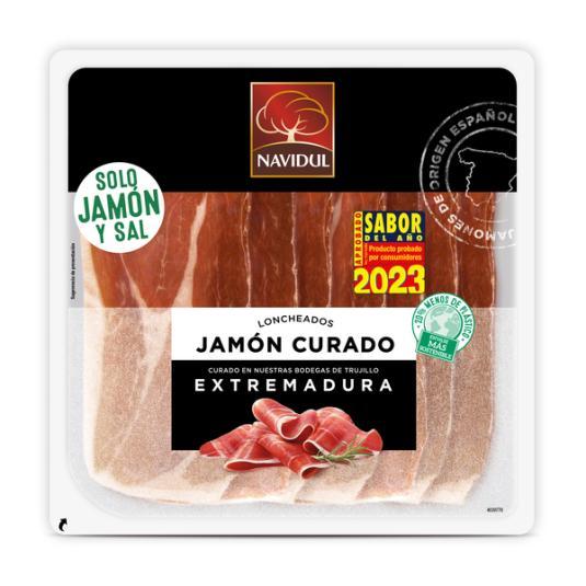 JAMON CURADO EXTREMADURA NAVIDUL 138G