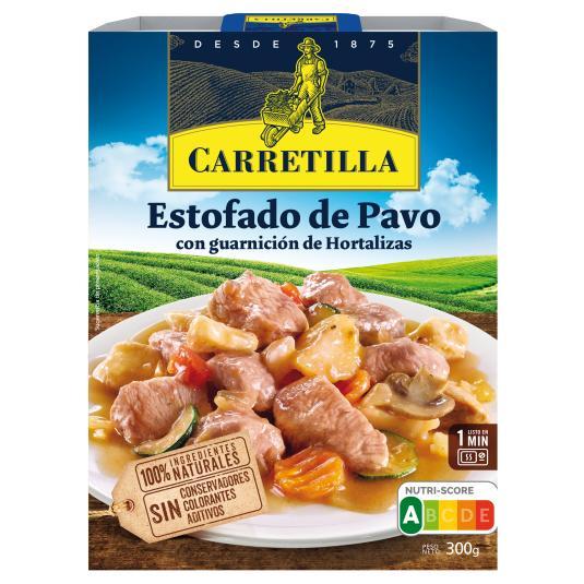 ESTOFADO PAVO CARRETILLA 300G