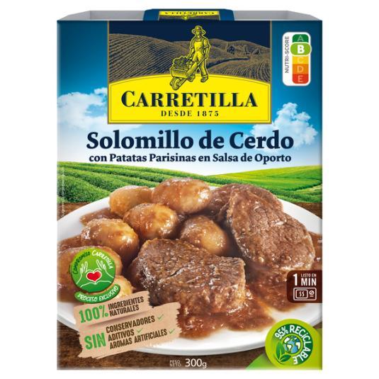 SOLOMILLO DE CERDO AL OPORTO CARRETILLA 300G
