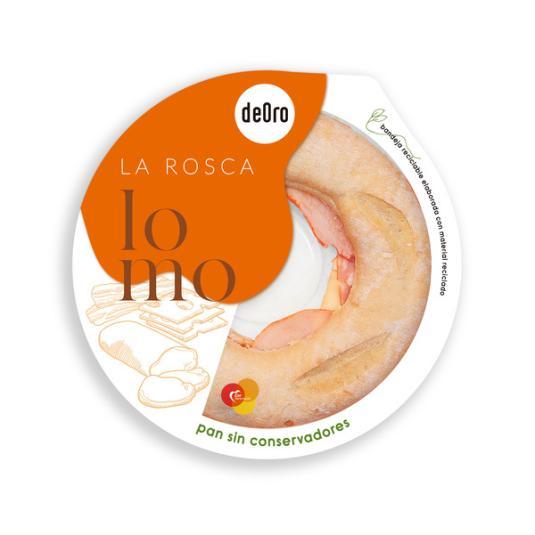 ROSCA RUSTICA LOMO/BACON/QUESO DEORO 480G