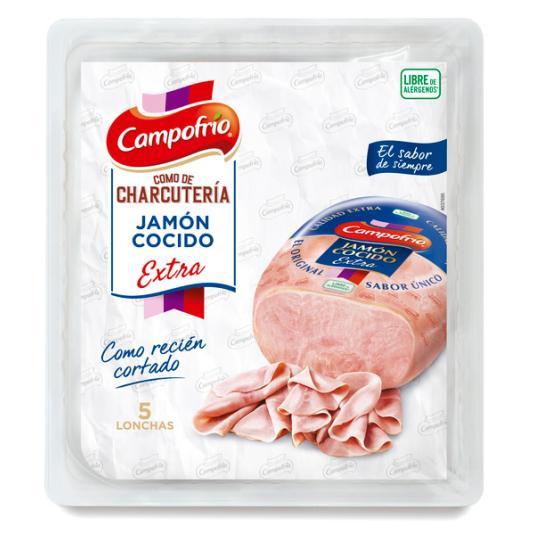 JAMON COCIDO EXTRA CAMPOFRIO 110G