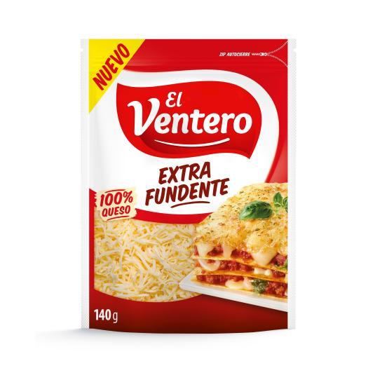 QUESO RALLADO EXTRAFUNDIDO EL VENTERO 140G