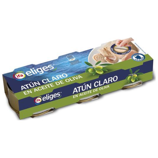 ATUN CLARO ACEITE OLIVA LATA IFA ELIGES P3 52G/U