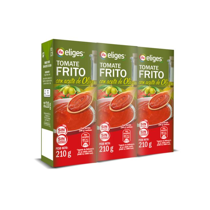 TOMATE FRITO C/ ACEITE DE OLIVA BRIK IFA P3 200G/U