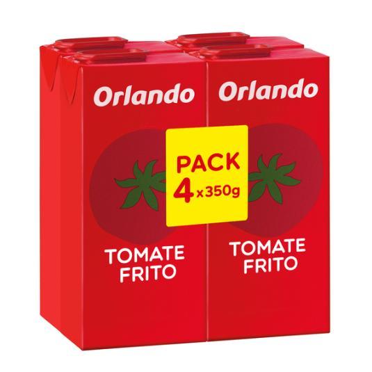 TOMATE FRITO BRICK ORLANDO P4 350G/U