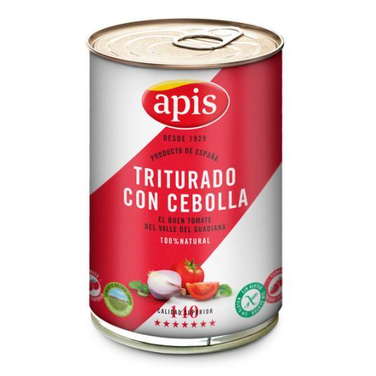TOMATE TRITURADO CON CEBOLLA APIS 400G