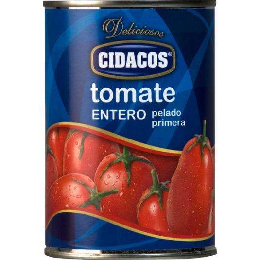 TOMATE NATURAL ENTERO CIDACOS 240G