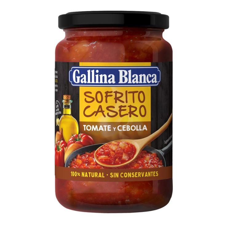 SOFRITO TOMATE CEBOLLA GALLINA BLANCA 350G