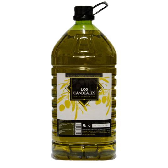 ACEITE OLIVA VIRGEN EXTRA LOS CANDEALES 5L