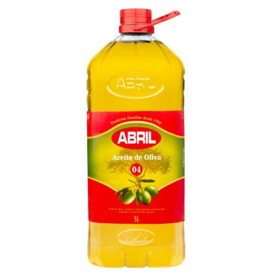 ACEITE DE OLIVA SUAVE 0.4º ABRIL 5L
