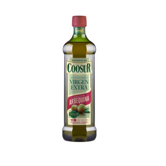 ACEITE OLIVA VIRGEN EXTRA ARBEQUINA COOSUR 1L