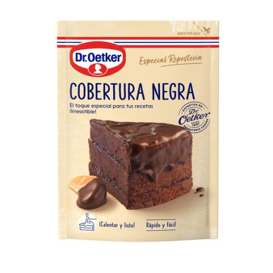 COBERTURA PASTEL NEGRA DR OETKER 100G