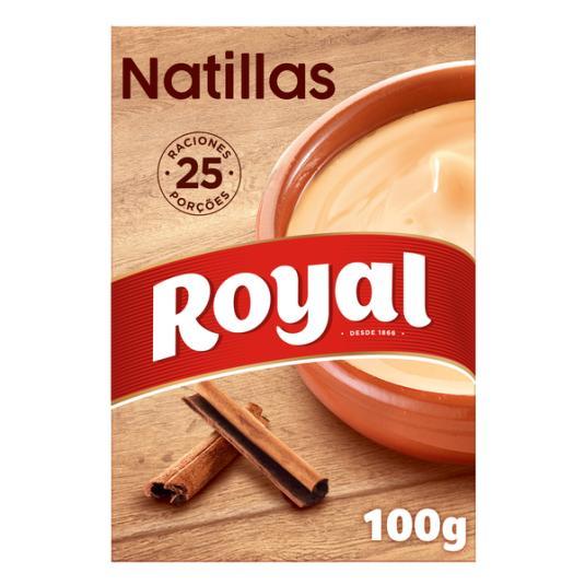 PREPARADO NATILLA CASERA ROYAL 100G