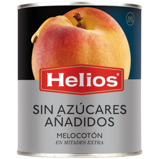 MELOCOTÓN ALMIBAR S/AZÚCAR AÑADIDO HELIOS 840G