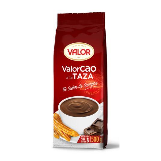 CHOCOLATE A LA TAZA VALORCAO 500G