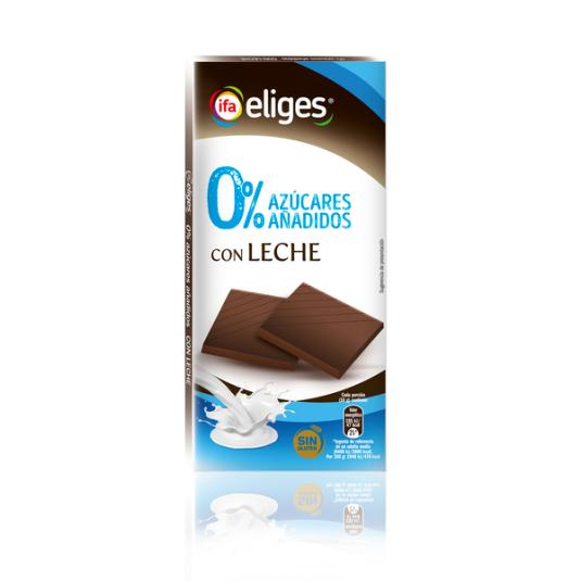 CHOCOLATE S/A CON LECHE IFA ELIGES 100G