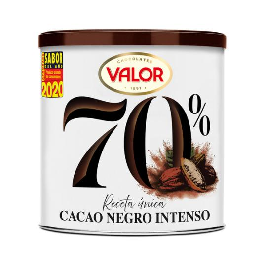 CACAO SOLUBLE NEGRO 70% VALOR 300G