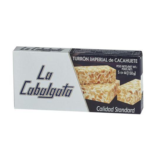 TURRON DURO CACAHUETE LA CABALGATA 150G