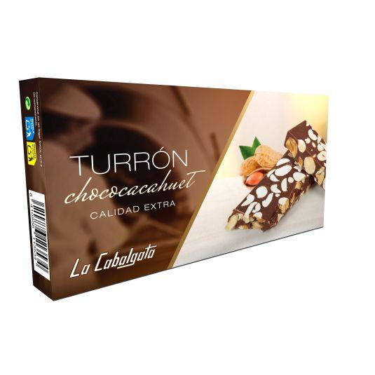 TURRON CHOCOLATE-CACAHUETE LA CABALGATA 120G