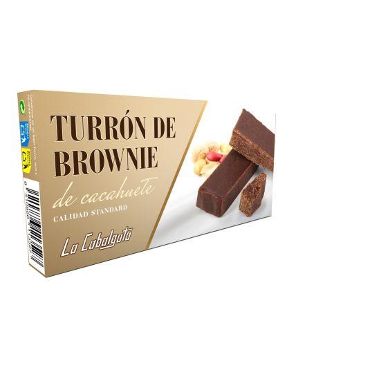 TURRON BROWNIE LA CABALGATA 150G
