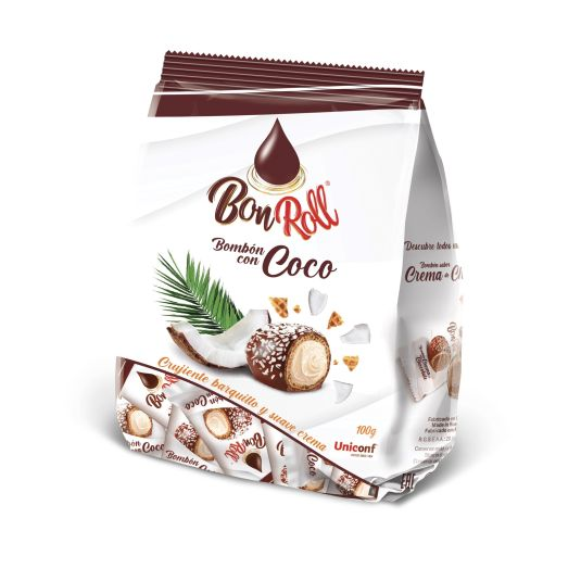 BOMBON CON COCO BONROLL 100G