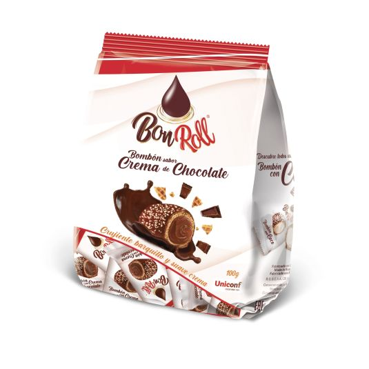 BOMBON CREMA CHOCOLATE BONROLL 100G