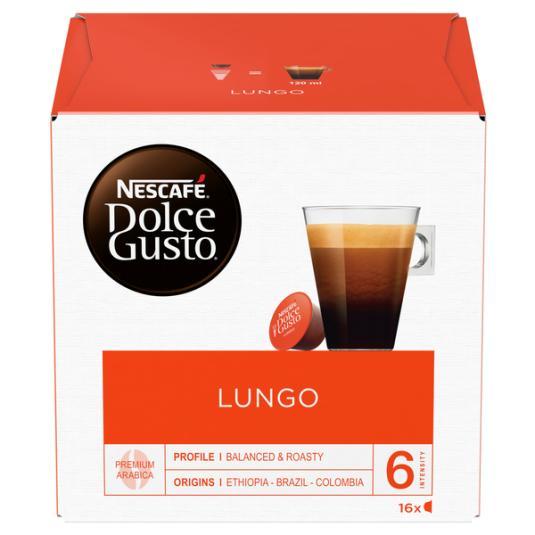CAFE CAPSULAS LUNGO DOLCE GUSTO 16U