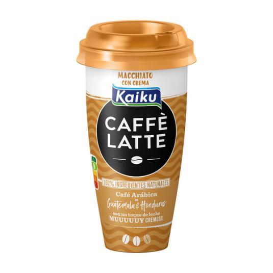CAFÉ LATTE C/ CREMA MACHIATTO KAIKU 230ML