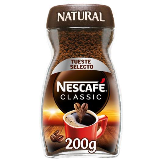 CAFÉ SOLUBLE NATURAL NESCAFÉ 200G