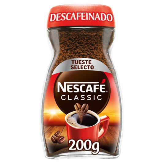 CAFÉ SOLUBLE DESCAFEINADO NESCAFÉ 200G