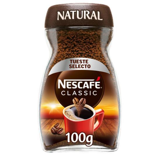 CAFÉ SOLUBLE NATURAL NESCAFÉ 100G