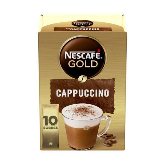 CAFÉ SOLUBLE CAPUCCINO NATURAL SOBRE NESCAFÉ P10