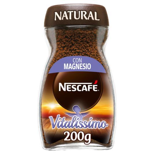 CAFÉ SOLUBLE NATURAL VITALISSIMO NESCAFÉ 200G