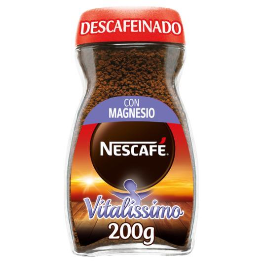 CAFÉ SOLUBLE VITALISSIMO DESCAFEINADO NESCAFÉ 200G