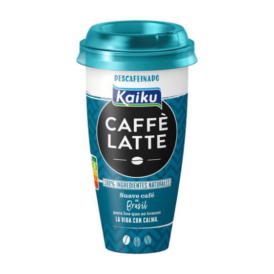 CAFÉ LATTE DESCAFEINADO KAIKU 230ML