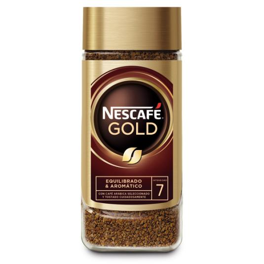 CAFÉ SOLUBLE GOLD NATURAL NESCAFÉ 100G